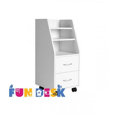 Детская тумбочка Fundesk SS15 (Цвет кромки:Белый)