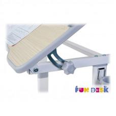 Парта для малышей и стул FunDesk Piccolino II (Цвет столешницы:Серый, Цвет ножек стола:Белый)