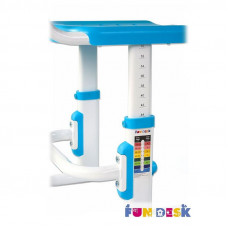 Детский стул FunDesk SST3 (Цвет каркаса:Белый, Цвет товара:Голубой)