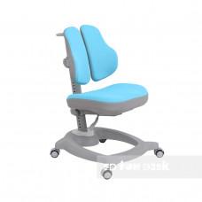 Ортопедическое детское кресло Fundesk Diverso (Цвет обивки:Розовый, Цвет каркаса:Серый)
