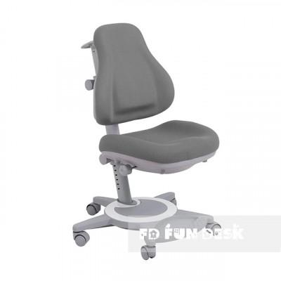 Подростковое кресло для дома FunDesk Bravo (Цвет обивки:Серый, Цвет каркаса:Серый)