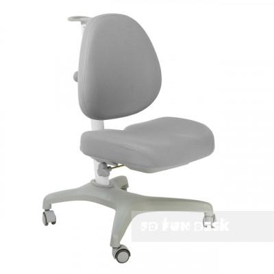 Подростковое кресло для дома FunDesk Bello I (Цвет обивки:Серый, Цвет каркаса:Серый)