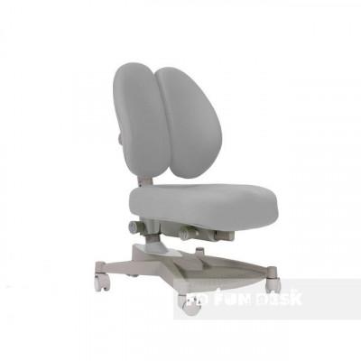 Ортопедическое кресло для детей FunDesk Contento (Цвет обивки:Серый, Цвет каркаса:Серый)