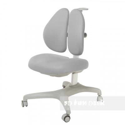 Подростковое кресло для дома FunDesk Bello II (Цвет обивки:Серый, Цвет каркаса:Серый)