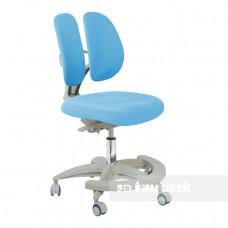 Подростковое кресло для дома FunDesk Primo (Цвет обивки:Серый, Цвет каркаса:Серый)