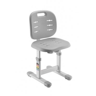 Детский стул FunDesk SST2 (Цвет каркаса:Белый, Цвет товара:Серый)