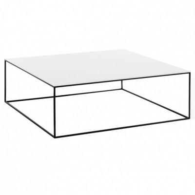 дизайнерский кофейный столик Sonorous CTS-0G-WHT-BLK